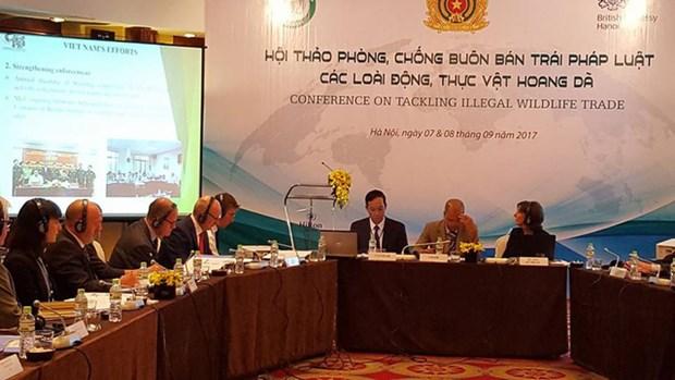 Vietnam, UK experts talk to fight wildlife trafficking hinh anh 1