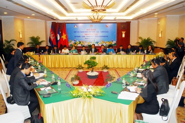 Vietnamese, Lao, Cambodian youths seek stronger cooperation hinh anh 1