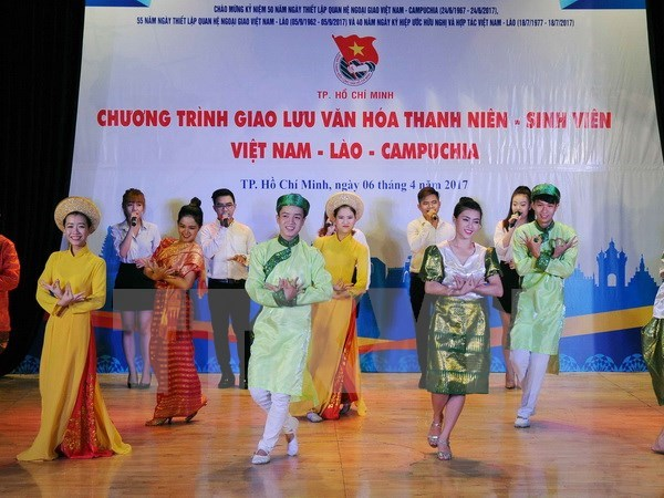 Ho Chi Minh City boosts youth cooperation with Laos, Cambodia hinh anh 1