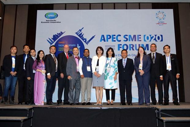 APEC forum helps SMEs enhance digital competitiveness hinh anh 1