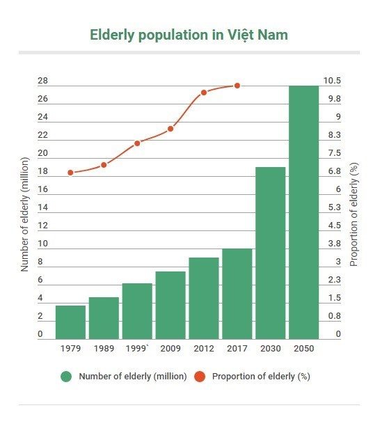Vietnam prepares to support aging population hinh anh 1