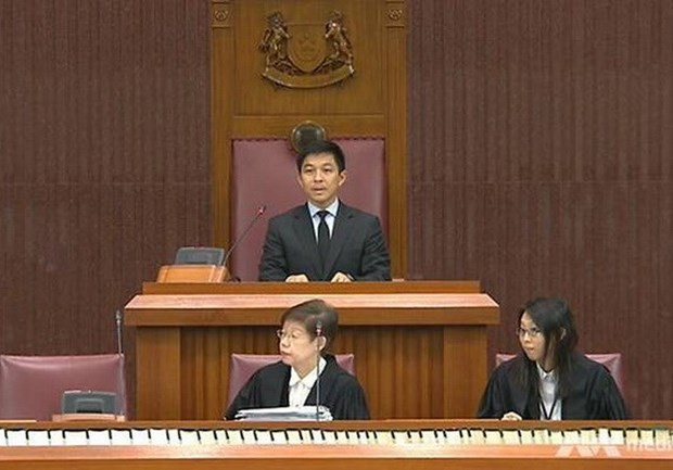 Singapore elects new speaker of parliament hinh anh 1
