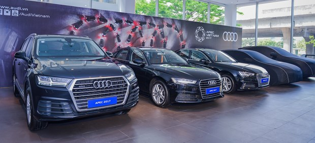 Second batch of Audi cars delivered to serve APEC hinh anh 1