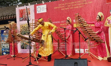 Painting exhibition on Vietnam underway in China hinh anh 1