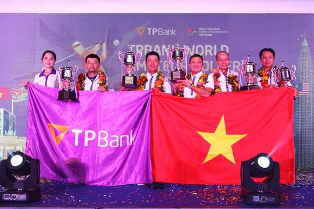 Amateur golfers to compete in world championship hinh anh 1