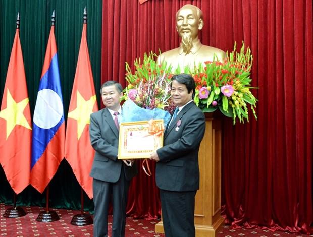 Phu Tho, Laos' Luang Namtha enjoy sound partnership hinh anh 1