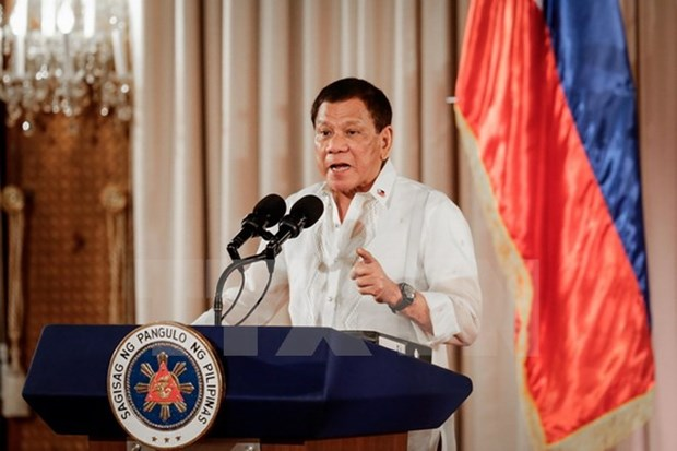 Philippine President says never negotiate with Maute terrorists hinh anh 1