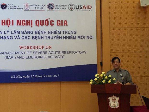 Experts discuss clinical management of new infectious diseases hinh anh 1