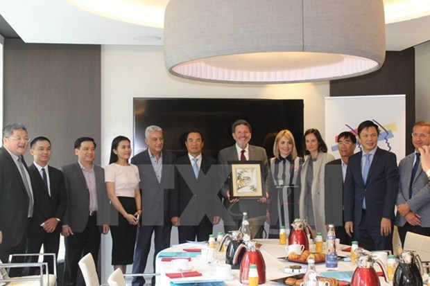French firms learn about investment chances in Da Nang's hi-tech park hinh anh 1