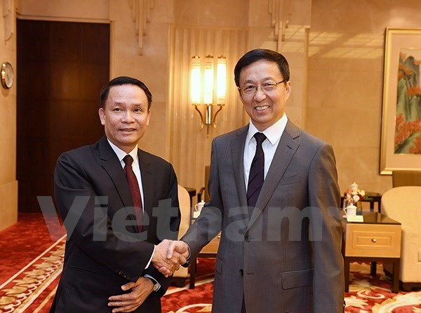 Vietnam, China share party building experience hinh anh 1