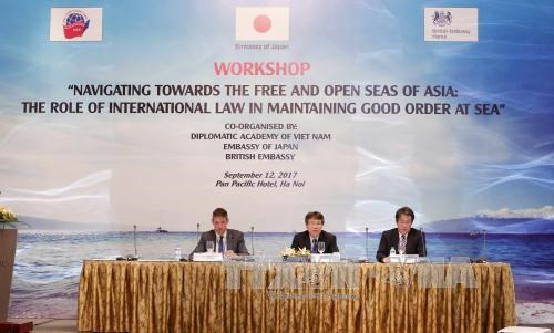 Workshop navigates towards free, open seas of Asia hinh anh 1