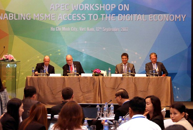 APEC workshop discusses MSMEs' access to digital economy hinh anh 1