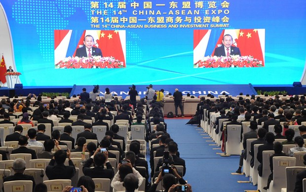 Vietnam always supports ASEAN-China cooperation: Deputy PM hinh anh 1