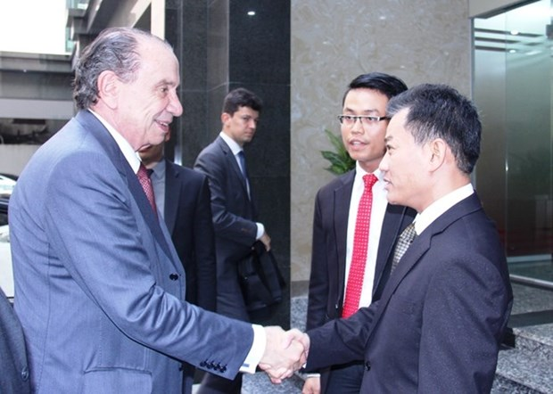 VUFO leader receives Brazilian Foreign Minister hinh anh 1