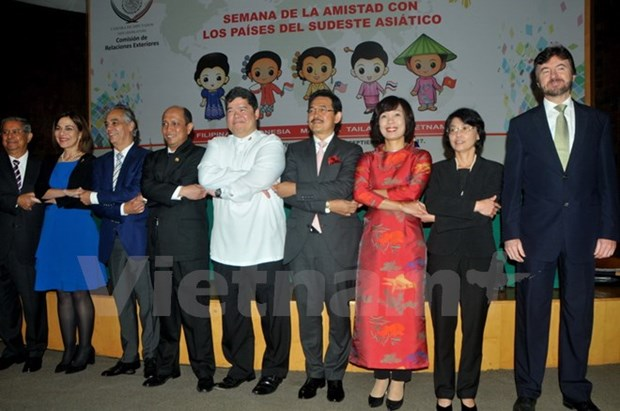 Culture week celebrates ASEAN's 50th founding anniversary in Mexico hinh anh 1