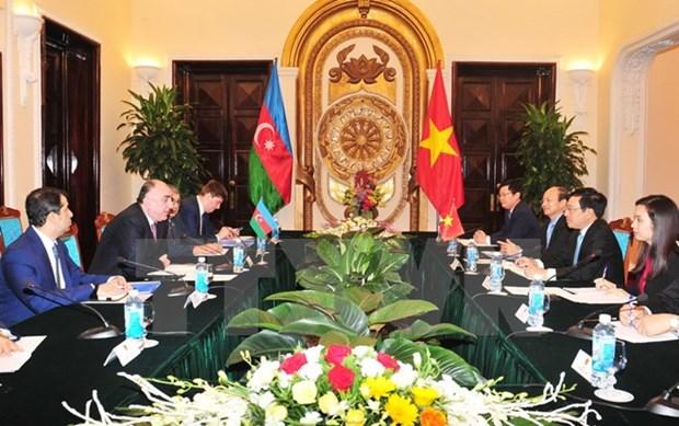 Vietnam, Azerbaijan discuss ways for stronger cooperation hinh anh 1