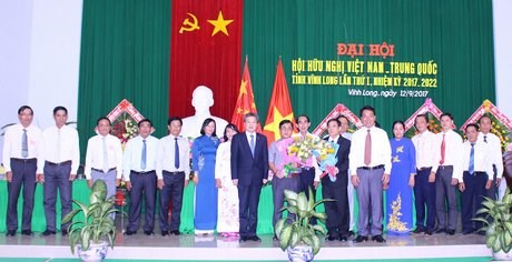Vietnam-China Friendship Association of Vinh Long holds first congress hinh anh 1