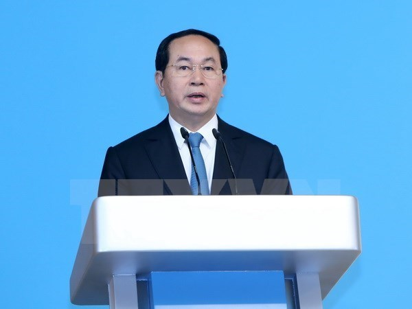 President sends greetings to AIPA-38 hinh anh 1