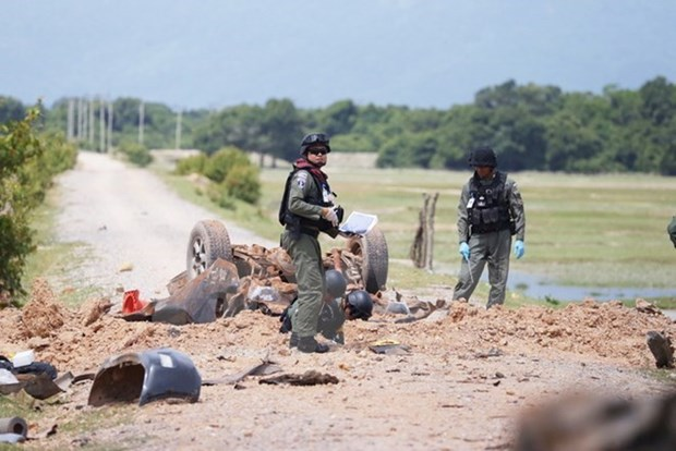 Attack on army vehicle claims one life in southern Thailand hinh anh 1