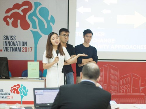 Startup models get 28,000 USD in Swiss Innovation Challenge hinh anh 1