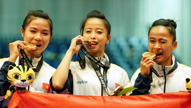 VN targets eight golds at Asian Indoor and Martial Arts Games hinh anh 1