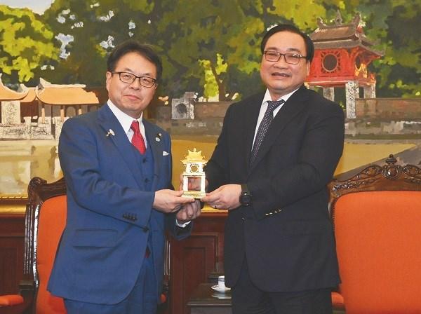 Hanoi seeks Japan's loans for metropolis railway projects hinh anh 1