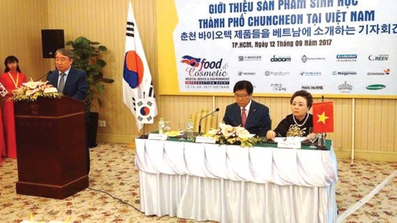 Korean bioproducts penetrate into Vietnamese market hinh anh 1
