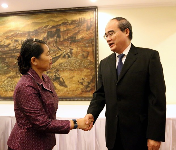 HCM City ready to boost ties among Vietnam, Laos, Cambodia women hinh anh 1