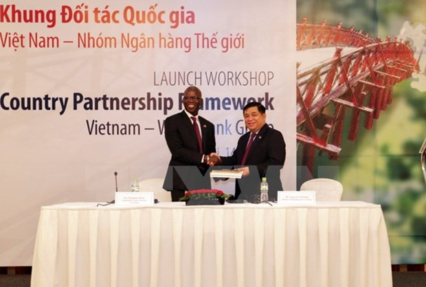 WB launches country partnership framework for Vietnam hinh anh 1