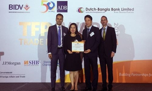 ADB again names BIDV as Vietnam's leading partner bank hinh anh 1