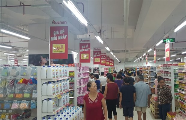 French group opens supermarket in Hanoi hinh anh 1