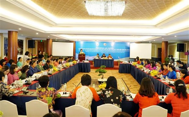 Vietnamese, Lao, Cambodian women foster ties hinh anh 1