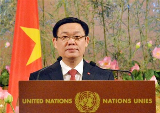 Vietnam's 40-year UN membership marked in Geneva hinh anh 1