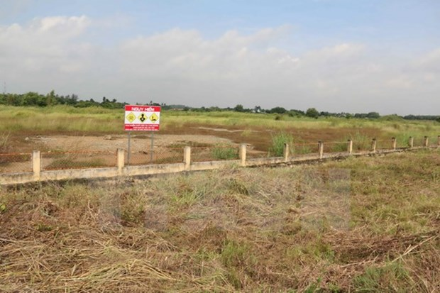 Infrastructure built to tackle dioxin contamination at Bien Hoa airport hinh anh 1