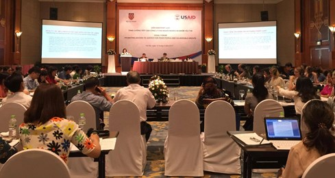 Forum looks to enhance vulnerable groups' access to justice hinh anh 1