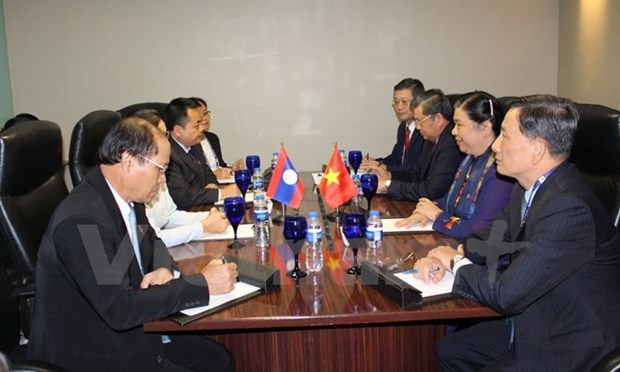 NA Vice Chairwoman meets with foreign parliaments' heads hinh anh 1