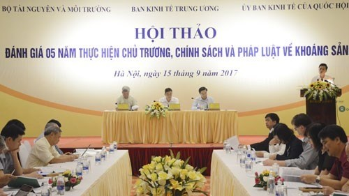 Progress on mineral resource maps remains slow hinh anh 1