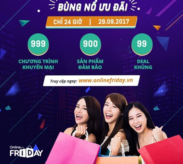 Online Friday to fall on September 29 hinh anh 1
