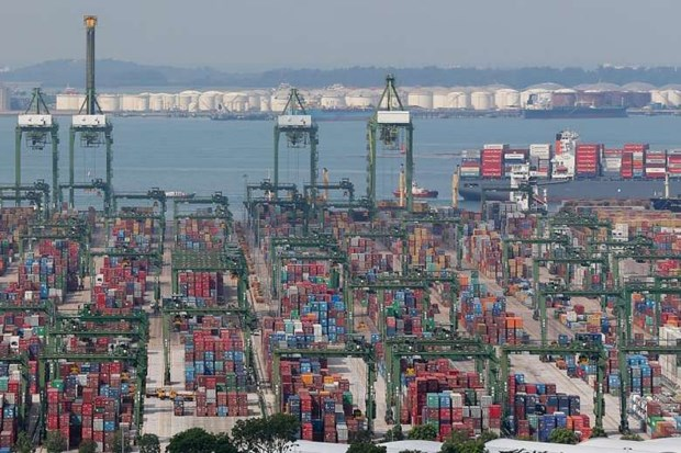 Singapore's non-oil exports surge 17 percent in August hinh anh 1