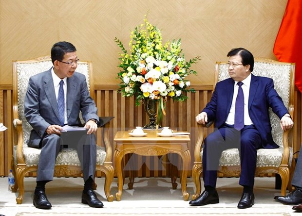 Deputy PM hails Mitsubishi's participation in thermal power plant hinh anh 1