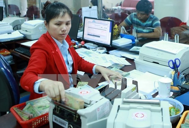 Reference exchange rate down by 2 VND at week's beginning hinh anh 1