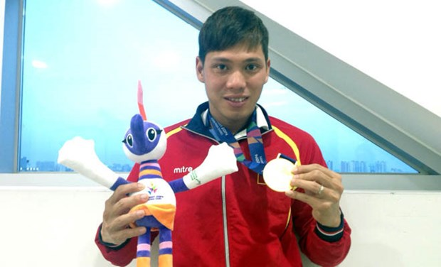 ASEAN Para Games: Vietnam wins four more gold medals hinh anh 1