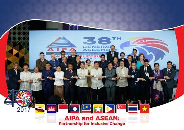 AIPA-38 backs ASEAN community building efforts hinh anh 1