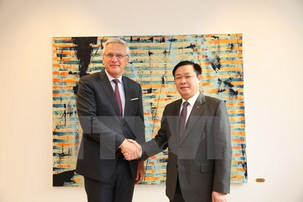Belgium leaders treasure ties with Vietnam hinh anh 1