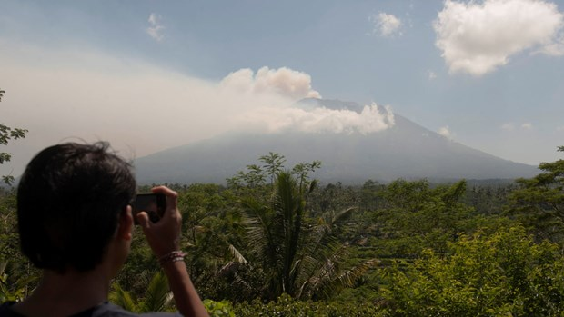Indonesia fears volcanic eruption in Bali hinh anh 1
