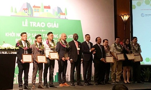 Startups honoured for climate change response initiatives hinh anh 1