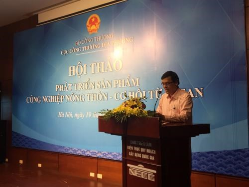 Workshop talks ASEAN-generated chances for rural industry products hinh anh 1