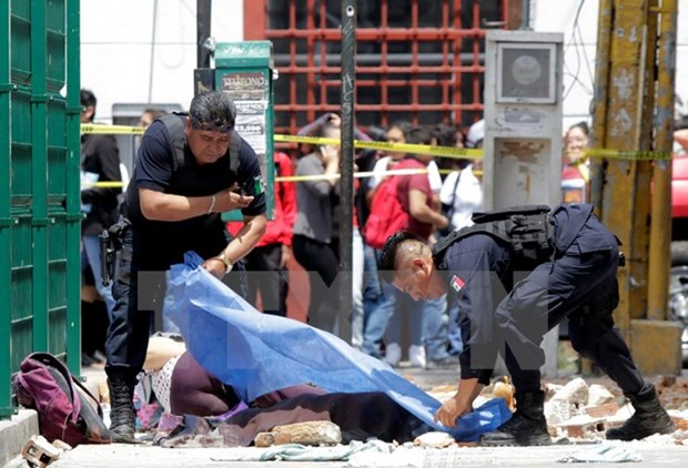 Sympathy to Mexico over earth quake losses hinh anh 1