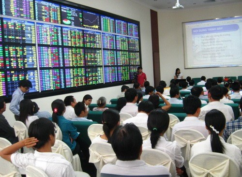 Market corrects after long rally hinh anh 1