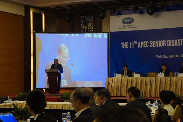 APEC senior officials seek ways to cope with disaster risks hinh anh 1